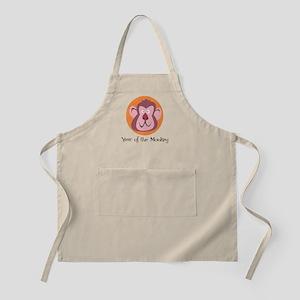 Cartoon Year of the Monkey BBQ Apron