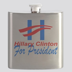 Hillary Clinton for President Flask