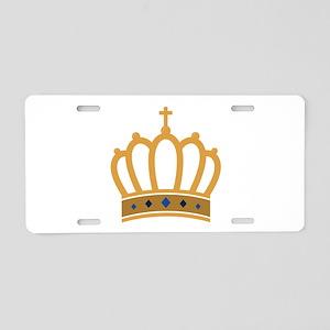 King Crown Aluminum License Plate