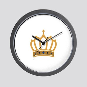 King Crown Wall Clock