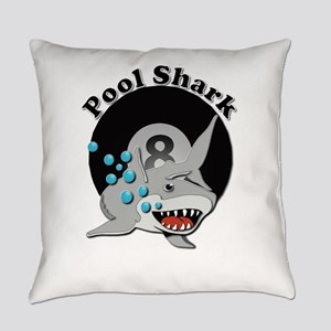 Eight Ball Pool Shark Everyday Pillow