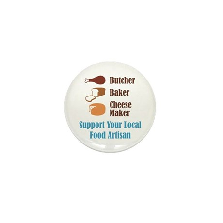 Food Artisan Mini Button (100 pack)