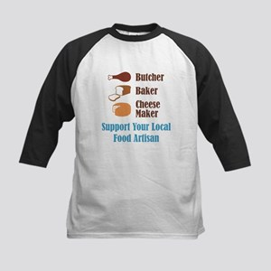 Food Artisan Kids Baseball Jersey