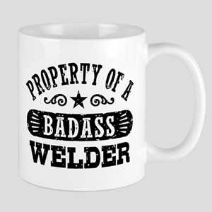 Property of a Badass Welder Mug