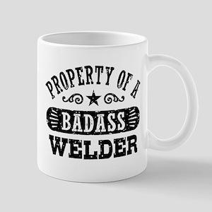 Property of a Badass Welder Mug