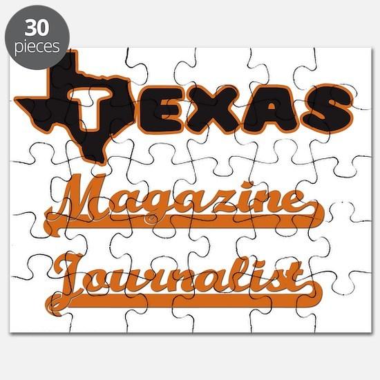 Texas Magazine Journalist Puzzle