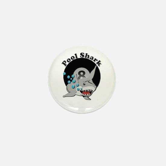 Eight Ball Pool Shark Mini Button