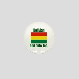 Cute Bolivian Mini Button
