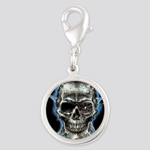 Electric Skull and Crossbones Charms