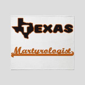 Texas Martyrologist Throw Blanket