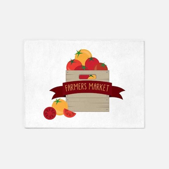 Farmers Market 5'x7'Area Rug