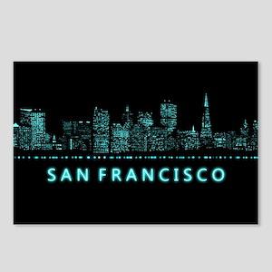 Digital Cityscape: San Fr Postcards (Package of 8)