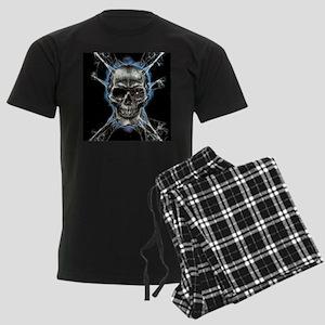 Electric Skull and Crossbones Pajamas