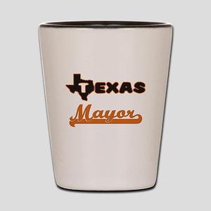 Texas Mayor Shot Glass