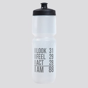 I Am 88 Sports Bottle