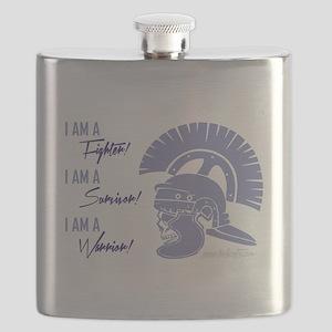 I AM A WARRIOR! Flask