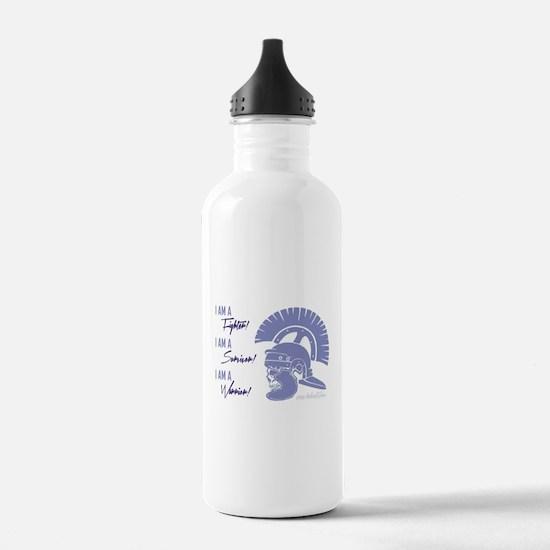 I AM A WARRIOR! Water Bottle