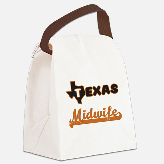 Texas Midwife Canvas Lunch Bag