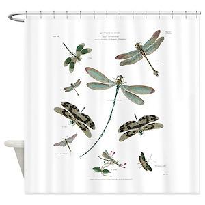 Fireflies Shower Curtains