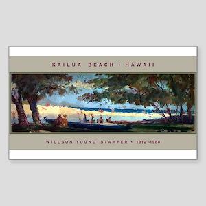 Willson Stamper Rectangle Sticker