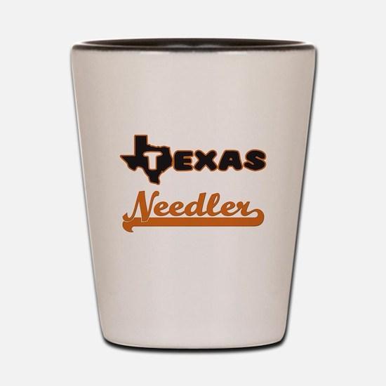 Texas Needler Shot Glass