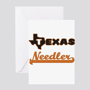 Texas Needler Greeting Cards