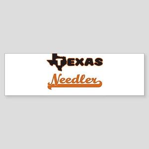 Texas Needler Bumper Sticker
