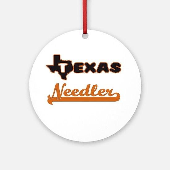 Texas Needler Ornament (Round)