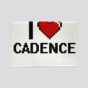 I Love Cadence Digital Retro Design Magnets