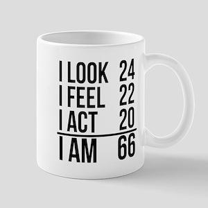 I Am 66 Mugs