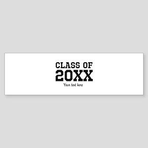 Custom graduation party favor Bumper Sticker