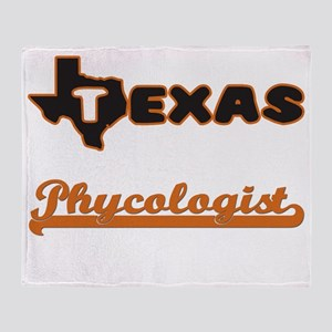 Texas Phycologist Throw Blanket