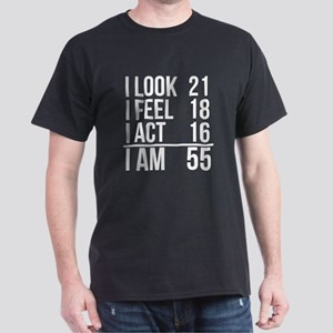 55th Birthday I Am 55 T Shirt