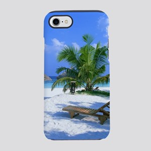 Tropical Beach iPhone 7 Tough Case