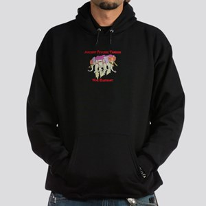 Ancient Psychic Tandem War Elephant Hoodie