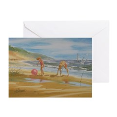 Circles in the Sand Note Cards (Pk of 10)