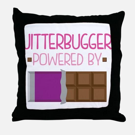 Jitterbugger Throw Pillow