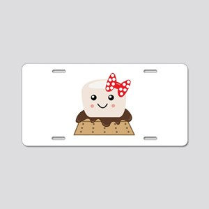 Smore Aluminum License Plate