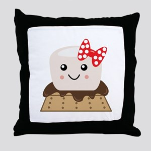 Smore Throw Pillow