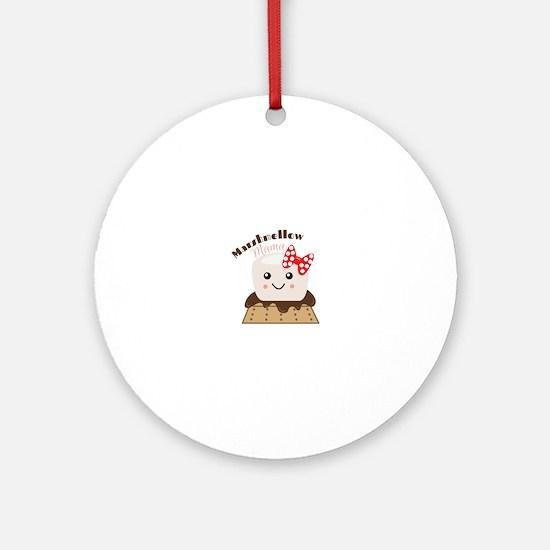 Marshmellow Mama Ornament (Round)