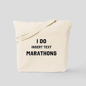 I do insert marathons Tote Bag