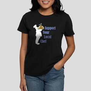 Local Chef Women's Dark T-Shirt