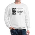 Mark Twain 13 Sweatshirt