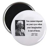 Mark Twain 13 Magnet