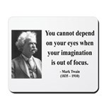 Mark Twain 13 Mousepad