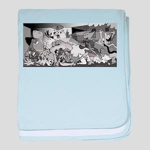 Guernicaracas baby blanket