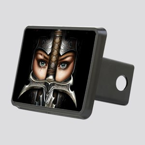 Knight Woman Hitch Cover