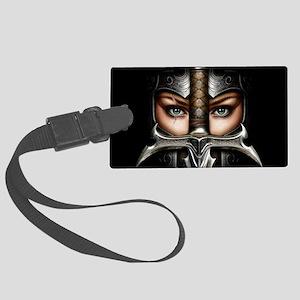 Knight Woman Luggage Tag