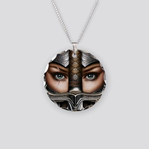 Knight Woman Necklace