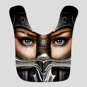 Knight Woman Bib